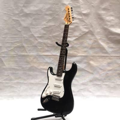 Starsun EB9903LH LEFT HAND  strat guitar black for sale