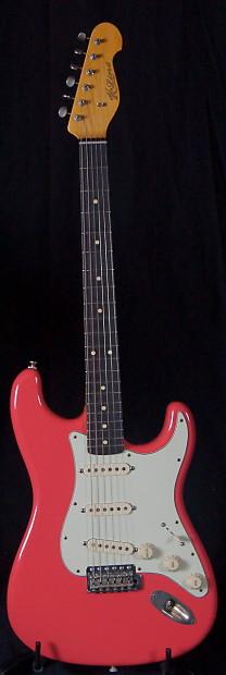 k line springfield strat fiesta red boutique electric guitar reverb. Black Bedroom Furniture Sets. Home Design Ideas