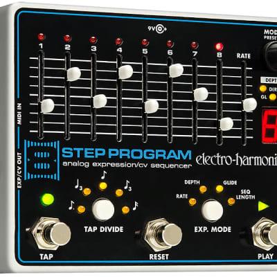 EHX Electro-Harmonix 8 Step Program Expression/CV Sequencer Guitar Effects Pedal
