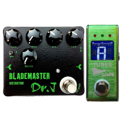 Dr.J D58 Blademaster High Gain Distortion Heavy Metal Hand Made and HB Tuner