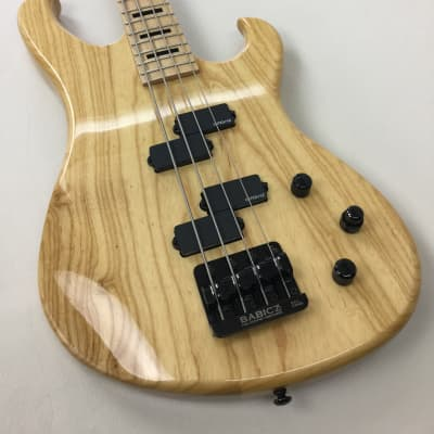 Electra Phoenix Bass Guitar - Gloss Natural (with Electra gig bag) for sale
