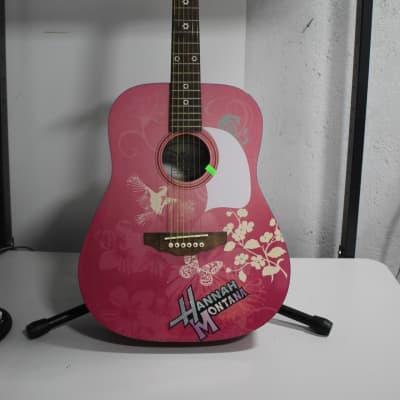 Washburn  Hannah Montana Acoustic Guitar Pink for sale
