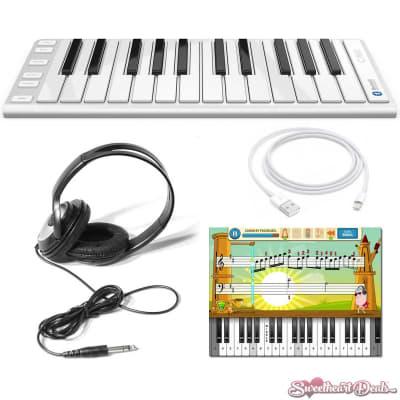 CME Xkey Air 25 Wireless MIDI Keyboard Kids Bundle with Maestro App + Headphones