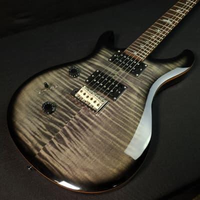 Paul Reed Smith PRS SE CU24 Custom 24 Fret Lefty Charcoal Burst Guitar With Gig Bag