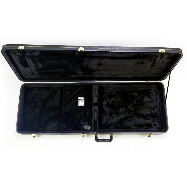guardian black tolex guitar hard case fits fender. Black Bedroom Furniture Sets. Home Design Ideas