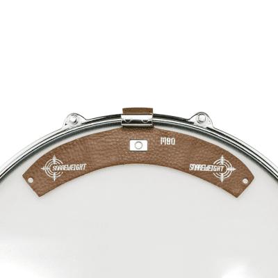 Snareweight M80 Drum Damper, Walnut Brown