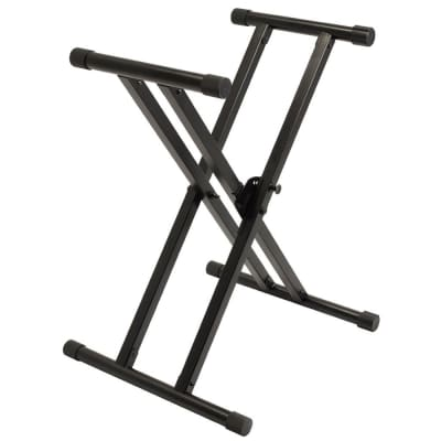 Ultimate Support IQ-X-3000 Heavy Duty Double Braced X-Style Keyboard Stand