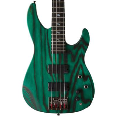 Caparison Dellinger-BASS, Dark Green Matt for sale