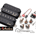 EMG Fat 55 Retro Active Pickup Set, Free EMG Clip-On Tuner and Strings