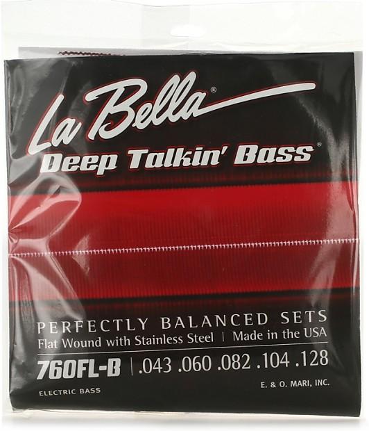 la bella 760fl b deep talkin 39 bass flatwound bass strings reverb. Black Bedroom Furniture Sets. Home Design Ideas