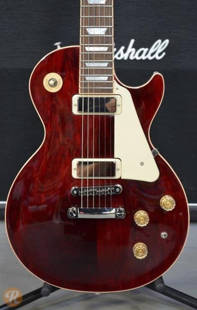 gibson les paul deluxe 2015 wine red price guide reverb. Black Bedroom Furniture Sets. Home Design Ideas