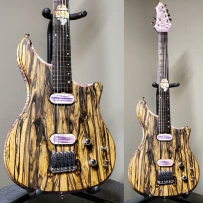 Barlow Guitars Falcon 2018 Pale Moon Ebony for sale