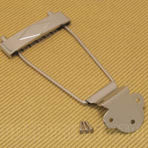 T120N Nickel Diamond Trapeze Tailpiece for Gibson L-50, L48, ES-125, ES-330