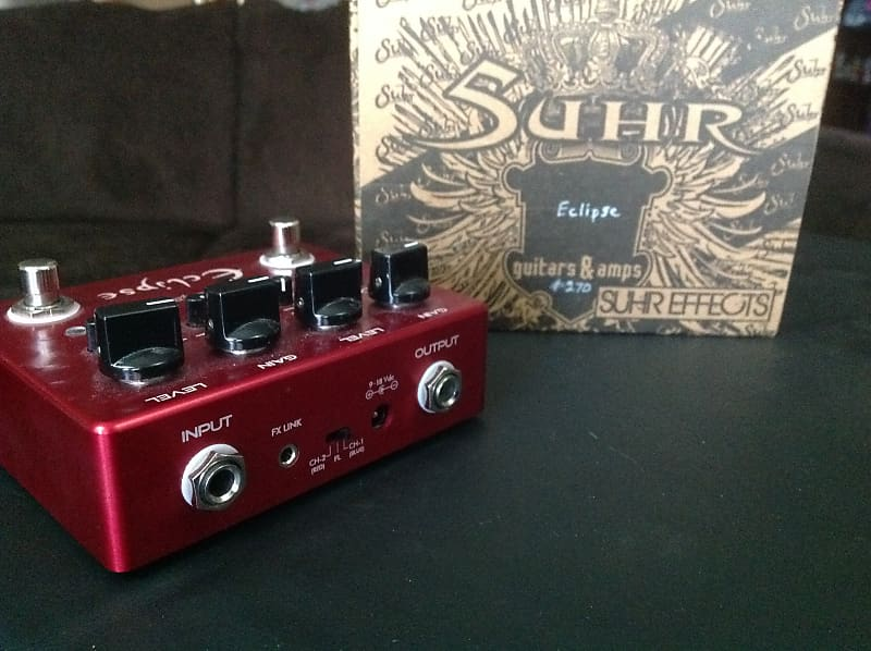 Suhr Eclipse Dual Overdrive/Distortion Red