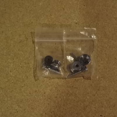 stewart macdonald 2 pairs Strap button chrome project, parts for sale