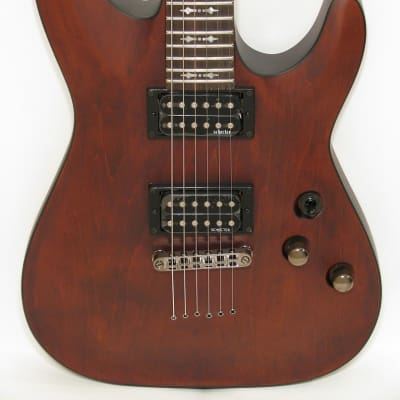 Schecter Guitar Research Omen-6 Electric Guitar Walnut Stain for sale