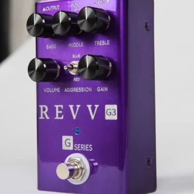 Revv G3 Distortion pedal, IN STOCK NOW! Brand New in Box with Warranty! Free 2-3 Day Shipping in US! for sale