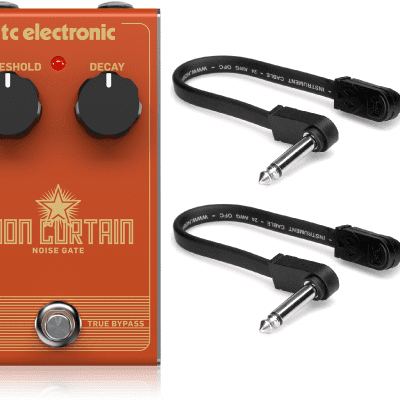 New TC Electronic Iron Curtain Noise Gate Effects Pedal