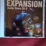 Roland SR-JV80 series sound demos 1998 black