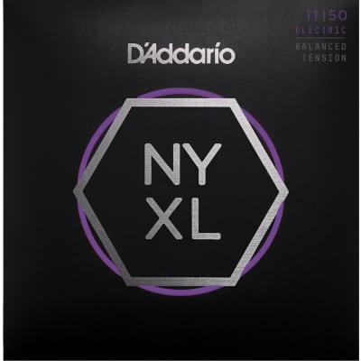 D'Addario NYXL1150BT Medium Nickel Wound Electric Guitar Strings - Balanced Tension - 11-50 Gauge