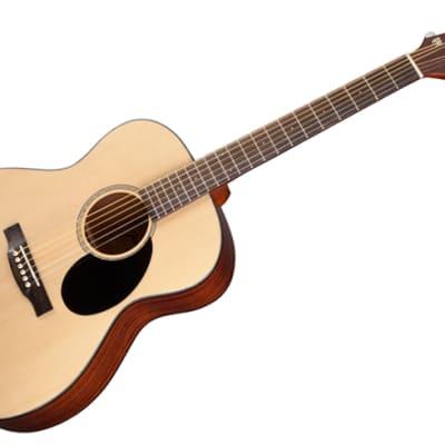 Jasmine JO36-NAT Orchestra Spruce Top Sapele Back & Sides Nato Neck 6-String Acoustic Guitar