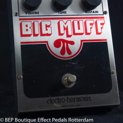 Electro-Harmonix EH 3003 Big Muff π V5 (Op Amp Tone Bypass) 1981 USA as used by Andy Martin-Reverb