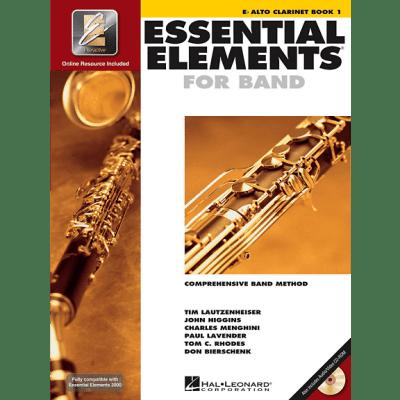 Essential Elements Book 1 - Alto Clarinet <HL00862570> Hal Leonard [ProfRev]
