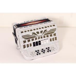 Sofiamari SMTT-3412 Two Tone Accordion - Fa/Mi