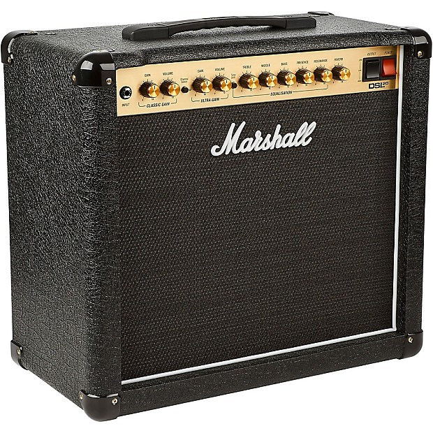 marshall dsl20cr 20w 1x12 tube guitar combo amp regular reverb. Black Bedroom Furniture Sets. Home Design Ideas