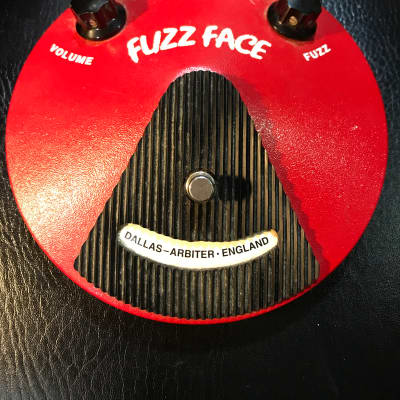 Dunlop Fuzz Face  1990s Red