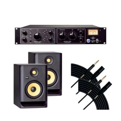 Universal Audio LA-610 MKII - KRK RP5G4 (2) - Mogami Gold TRSXLRM-10 (2)