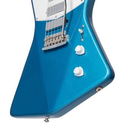 Sterling by Music Man STV60-VBL2 St. Vincent Vincent Blue Electric Guitar for sale
