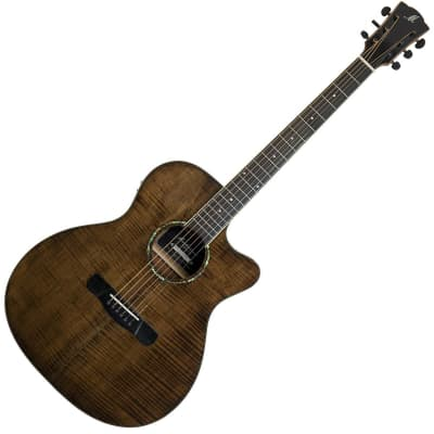 Merida Extrema GACE Ltd. Ed. Electro Acoustic Guitar - Brown for sale