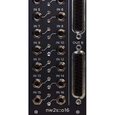 nw2s::o16 Balanced Line Driver - Black Panel