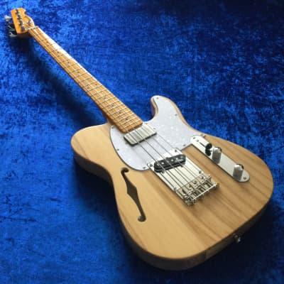 Martyn Scott Instruments Short Scale Thinline T Bass Conversion for sale