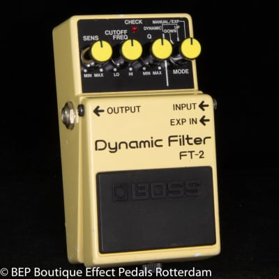 Boss FT-2 Dynamic Filter 1987 s/n 768200 Japan