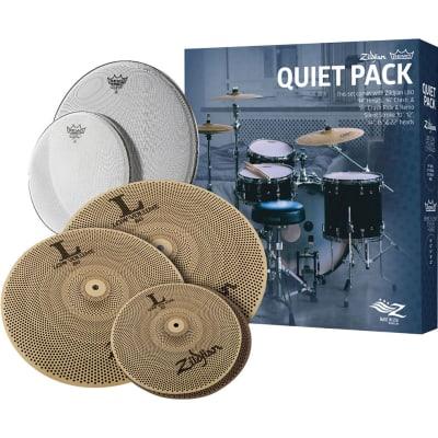 Zildjian Low Volume Quiet Pack w/ Remo Silent Stroke Drumheads