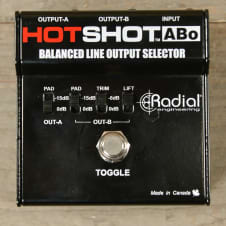 Radial HotShot ABo Footswitch 2 Outputs USED