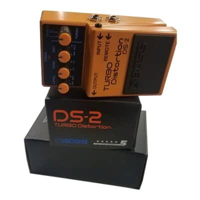 Boss DS-2 Turbo Distortion w/ Remote Turbo (opt. FS-5L) - Used
