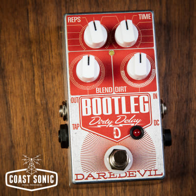 Daredevil Pedals Bootleg Dirty Delay