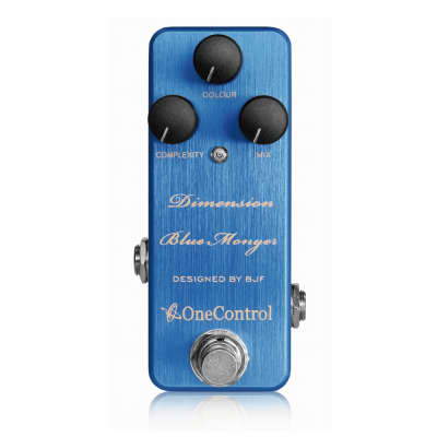 New One Control Dimension Blue Monger Modulation Guitar Effects Pedal for sale