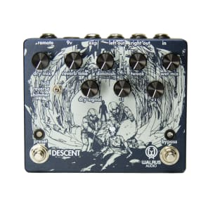 Walrus Descent Reverb Octave Effect Pedal for sale