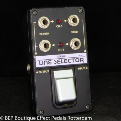 Yamaha LS-01 Line Selector s/n 112665 mid 80's Japan