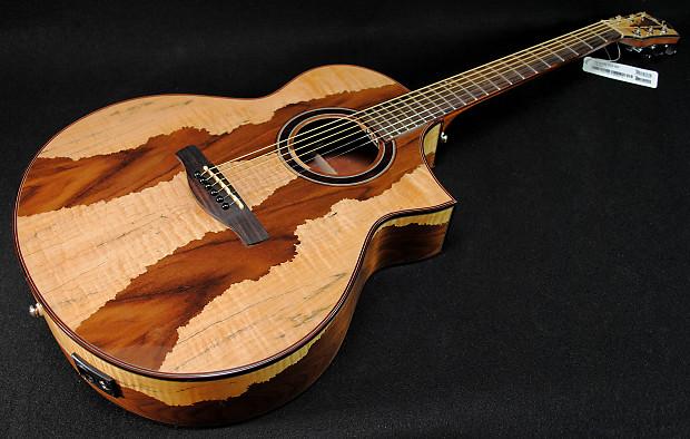 Ibanez Aew16ltd1nt Exotic Wood Series Acoustic Electric
