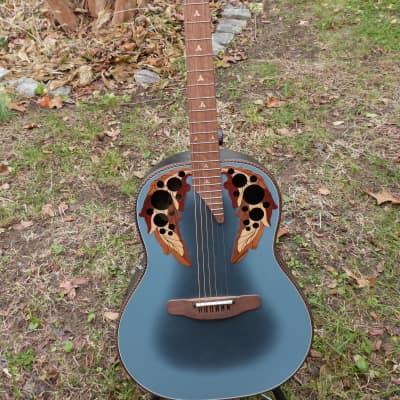 Adamas ovation Adamas 1687 prototype 1983 blue for sale