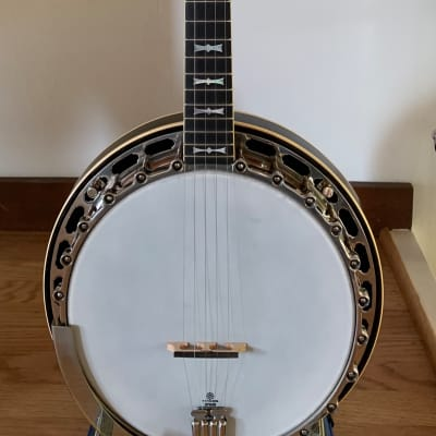1938 Gibson TB-7 original flathead top-tension banjo for sale