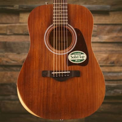 Ibanez AW Artwood 6Str Acoustic Guitar w/Padded Gigbag - Open Pore Natural SN/CD180403800 image