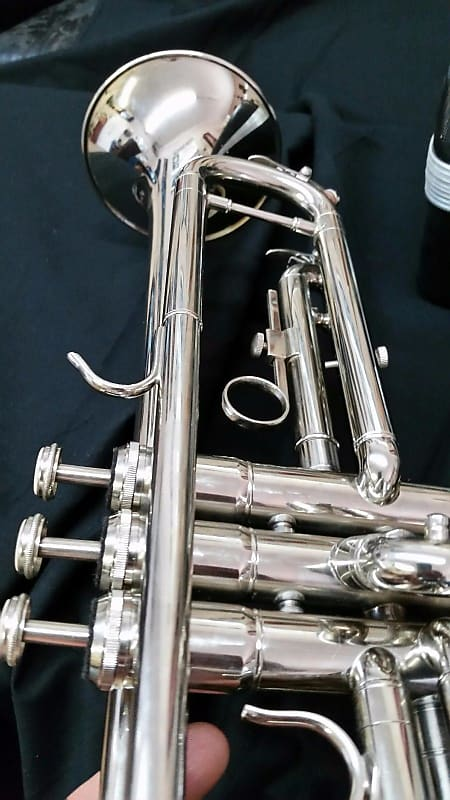 Millbrook with Bach pistons Beautiful 2019 Millbrook Silver Trumpet