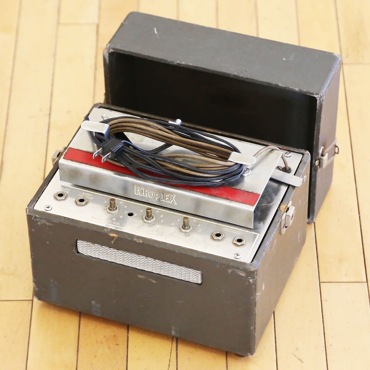 1964 Echoplex EP-1 Vintage Tape Echo Delay Pedal Effects Unit - Tube  Version! Great Project!