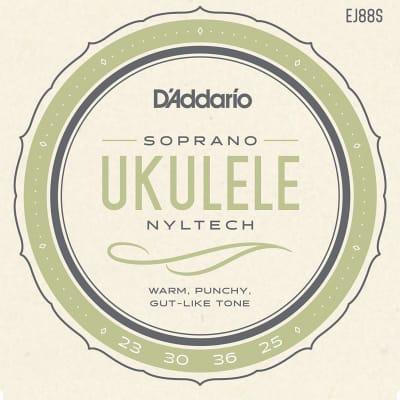 D'Addario EJ88S Nyltech Ukulele Strings Soprano
